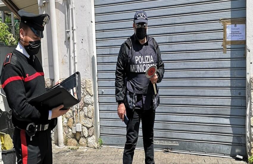 Palermo – Sequestrate due attività per abusivismo commerciale.