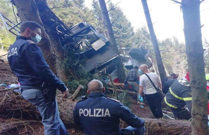 Mottarone: Operatore tv milanese muore sul luogo della tragedia