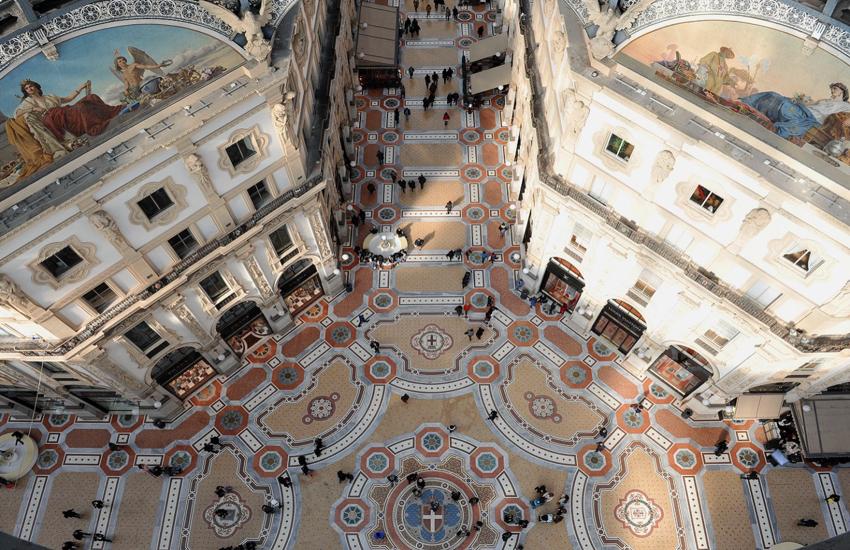 Milano: Bando per affitto locali ex Dutti in Galleria, si parte da 3 milioni di euro