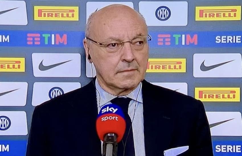 Inter: Marotta, 'Spero Conte resti. Nostra situazione non è disastrosa'