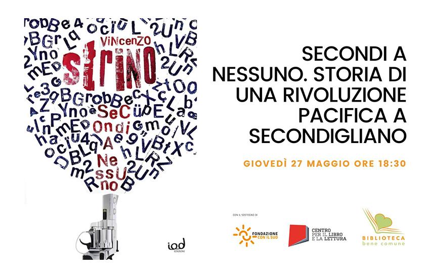 Secondi a nessuno, giovedì 27 maggio a Villa Giaquinto