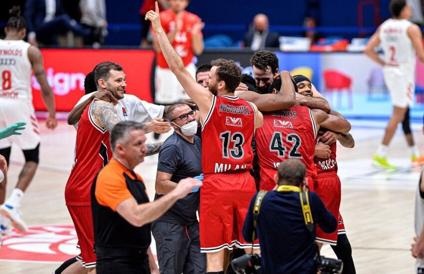 Basket: Euro League, Olimpia Milano vola alle Final Four