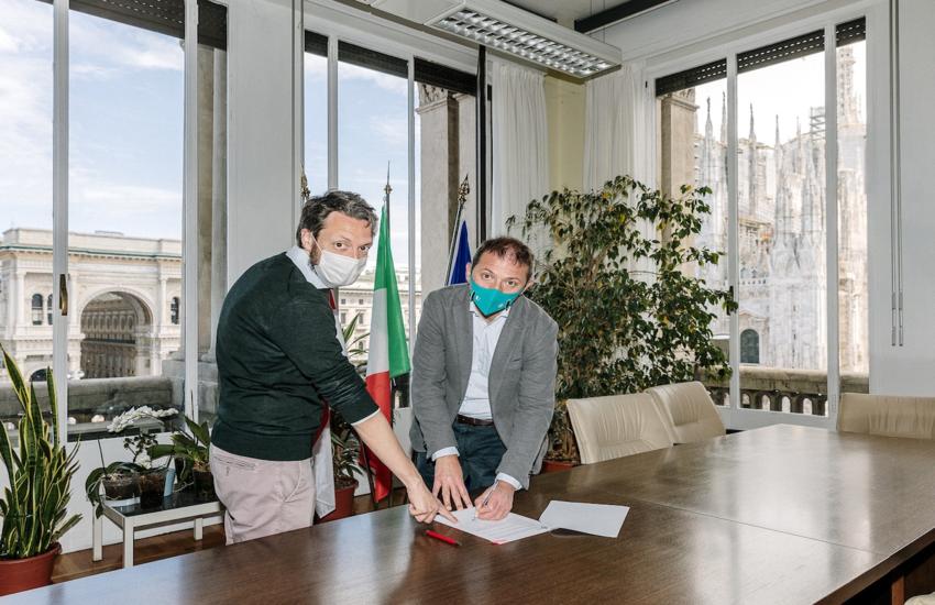 Milano: Patto tra Comune, Gruppo CAP e cittadini per rigenerare via Rimini