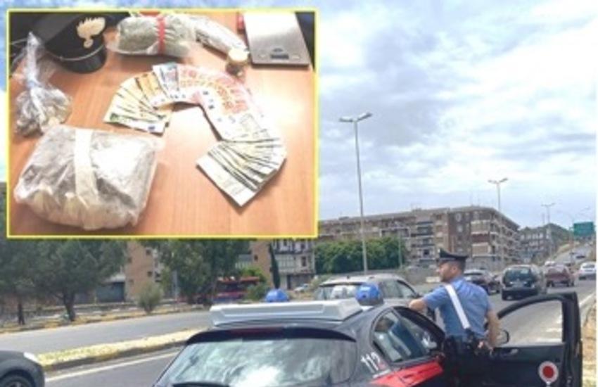 Catania, si nasconde ai militari, ma viene fermato e trovato con la droga in casa: arrestato 40enne di Belpasso