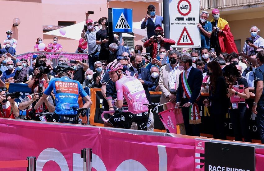 """Giro, Marsilio e Liris: """"Corsa rosa vetrina per l'Abruzzo"""""""