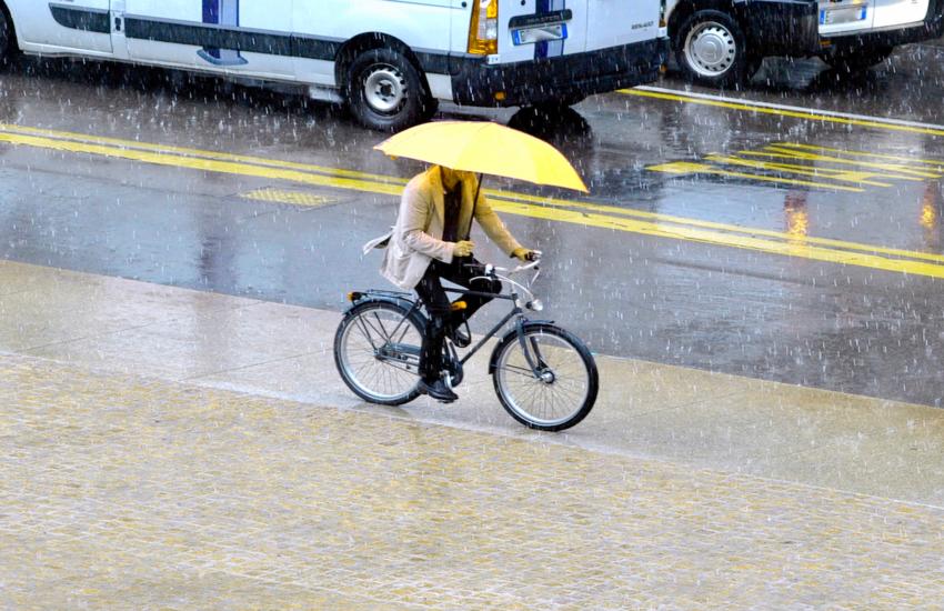 Milano: Allerta gialla per pioggia e vento
