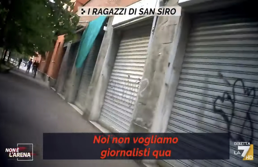 Milano: Non è l'arena a San Siro dopo gli scontri tra rapper e Polizia – Video