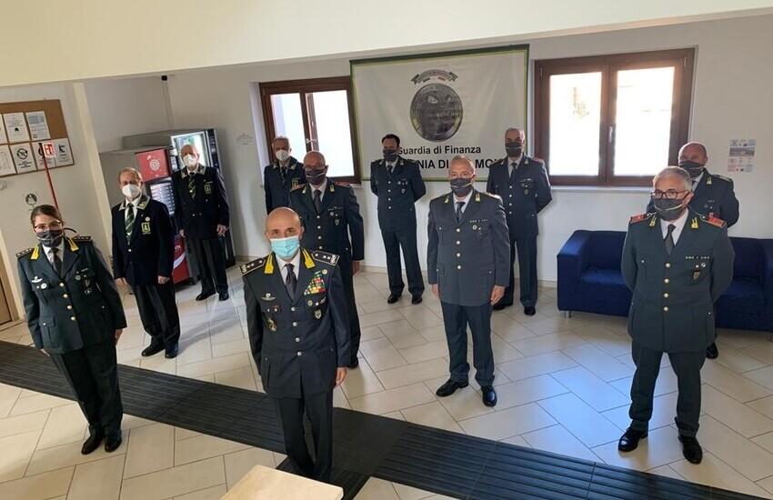 Guardia di Finanza: comandante regionale d'Abruzzo incontra il procuratore capo della Repubblica di Sulmona