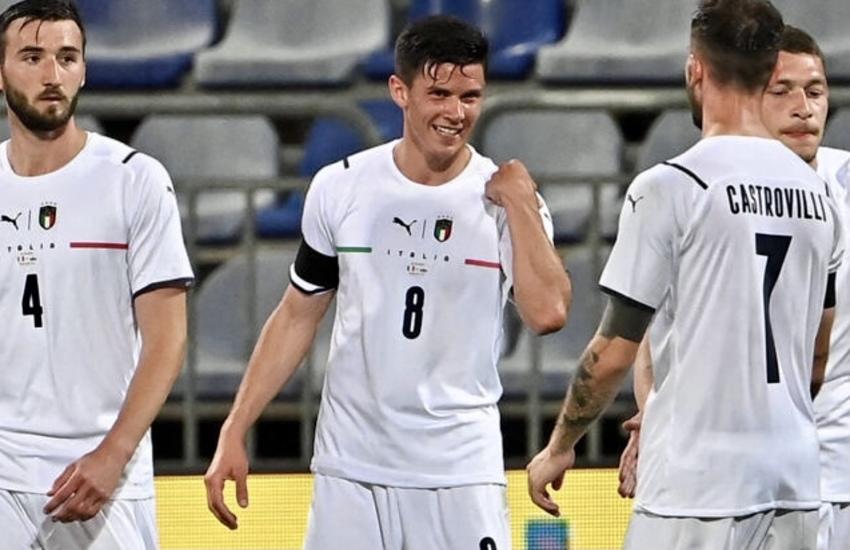 Italia a valanga nell'amichevole con San Marino