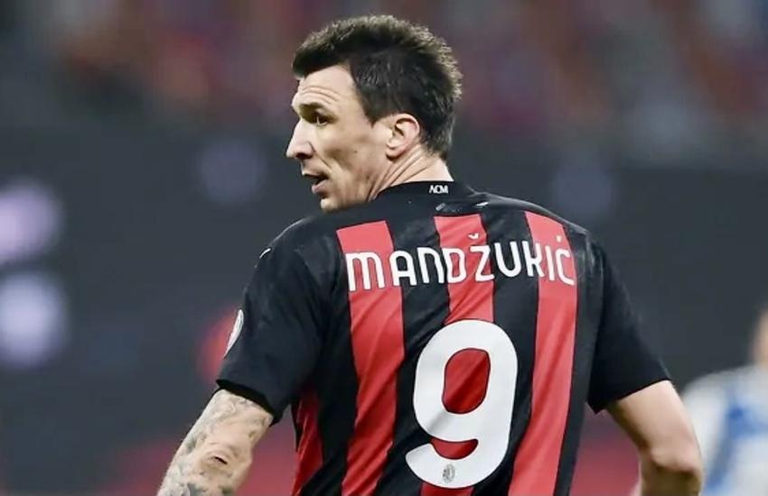Mandzukic, addio al Milan: 'È stato un piacere giocare per voi'