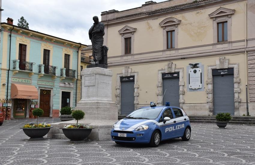 Sulmona: viaggia sulla Statale 17 ad alta velocità, si rifiuta di sottoporsi agli accertamenti clinico-tossicologici: denunciato