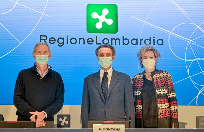 Vaccinazioni: Fontana e Moratti, 'Lombardia modello virtuoso'