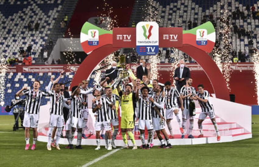 Coppa Italia 2021/2022 ecco il tabellone