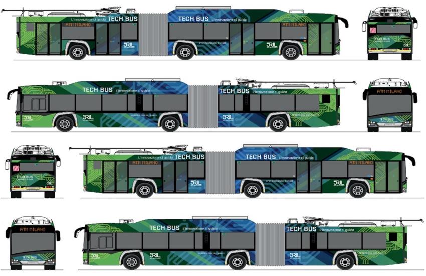 Milano: In arrivo il 'Tech bus', per una mobilità urbana assistita e connessa