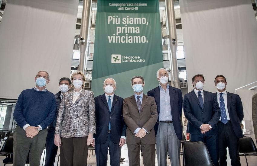 Covid: Moratti, 'Con più vaccini almeno una dose a tutti i lombardi entro estate'