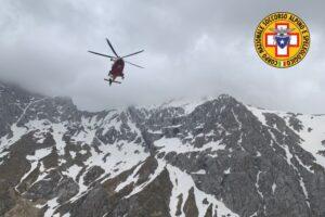 Pizzo Intermesoli, Alpinista perde i sensi sul Gran Sasso: recuperato