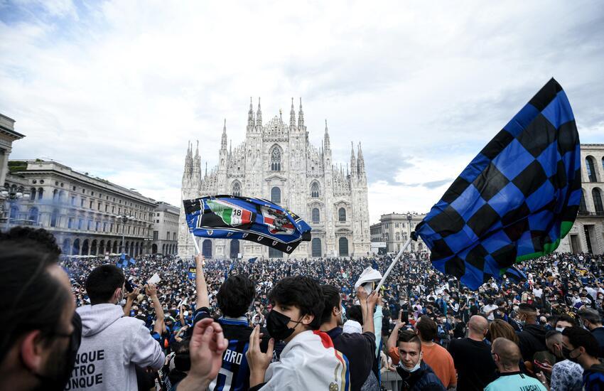 Inter: Assembramenti, Fontana 'Speriamo non aumentino contagi'