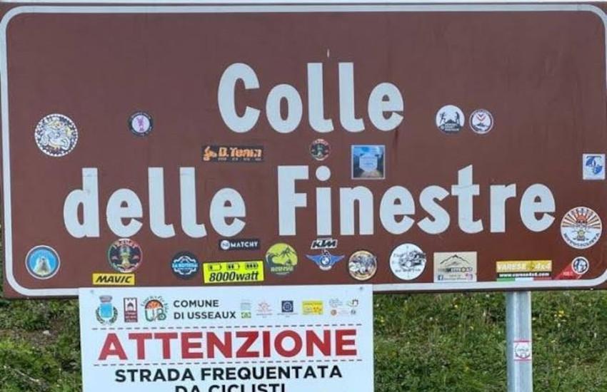 Val di Susa, chiusa fino al 26 maggio la strada del Colle delle Finestre