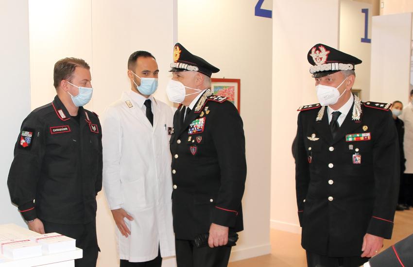 Torino, il Comandante generale dei Carabinieri visita il cantiere di San Didero e l'hub di Moncalieri