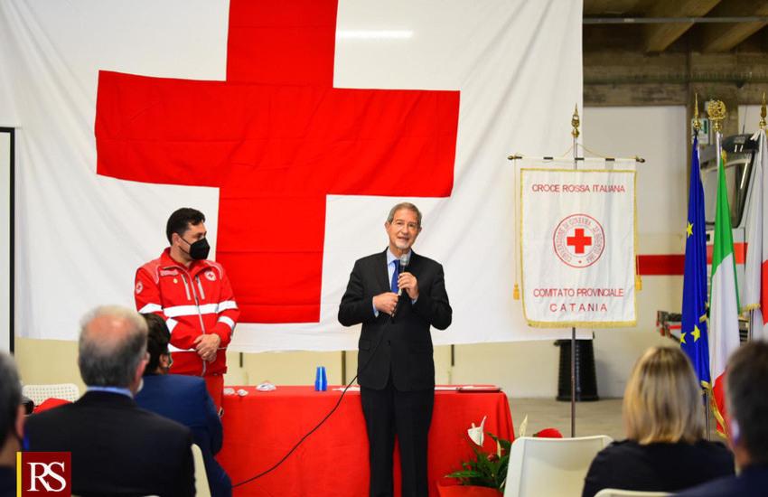 Croce Rossa, Musumeci: «Nuova sede di Catania darà impulso all'opera instancabile dei volontari»