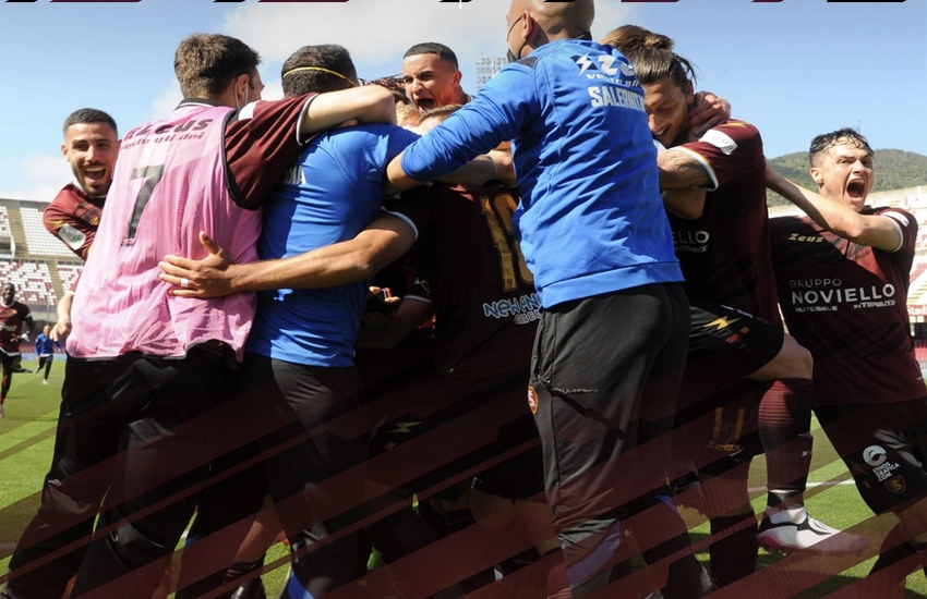 Serie B: Salernitana a una vittoria dalla A, Pescara e Reggiana retrocedono