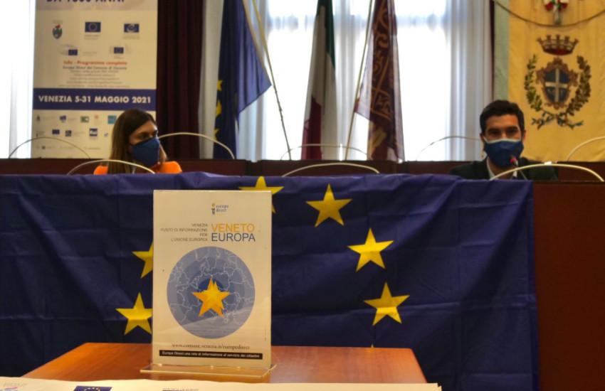 """#FestaEuVenezia2021: presentata a Mestre la IX edizione dal titolo """"Pensare Europeo da 1600 Anni"""""""