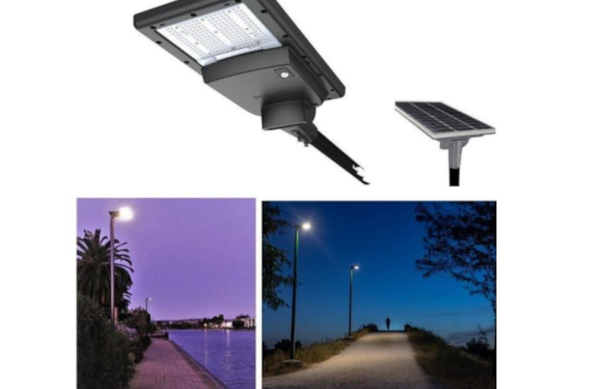 Nuovi lampioni fotovoltaici per illuminare le zone ancora buie di Montegrotto Terme