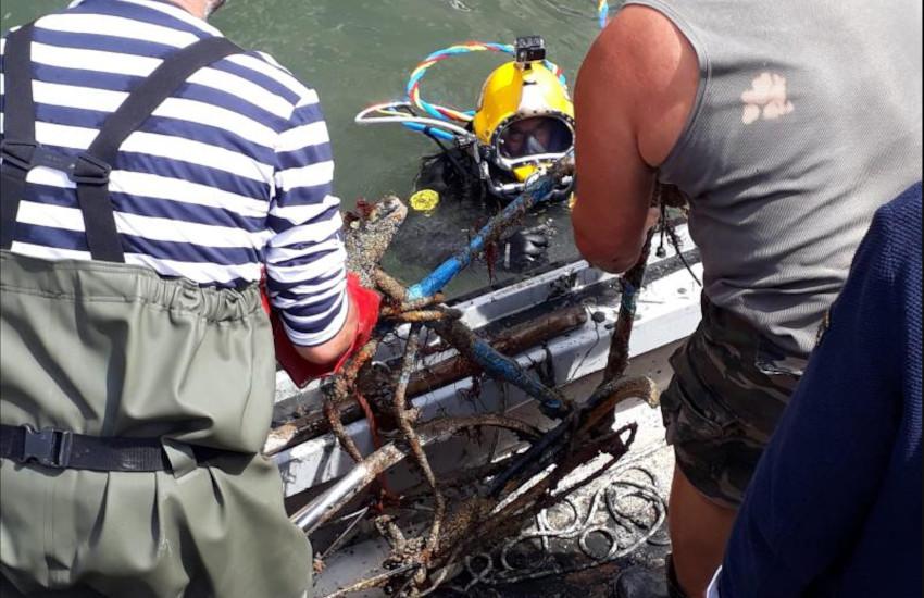Nuovo ciclo immersioni gondolieri sub dal 16 maggio nel Canale della Fava
