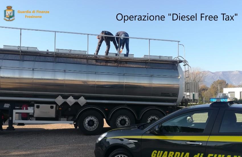 """Operazione """"Diesel free tax"""", sequestri per 40 milioni: coinvolte due società di Latina"""