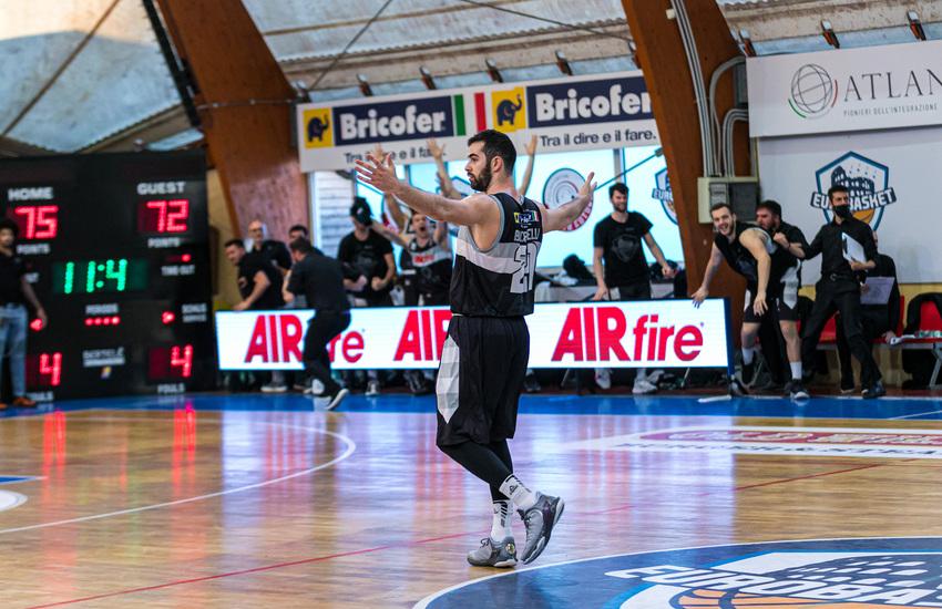 Atlante Eurobasket Roma supera in rimonta Unieuro Forlì