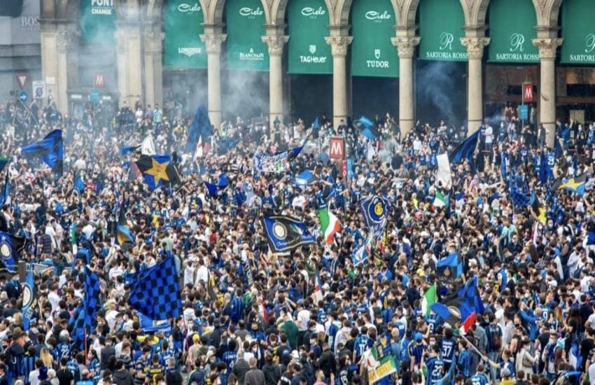 Inter: Assembramenti, 'Chiudere piazza Duomo sarebbe stato rischioso'