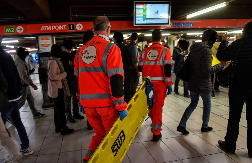 Milano: Altra tragedia in metropolitana, travolto e ucciso un uomo