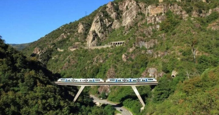 A dicembre riapre la ferrovia Cuneo-Ventimiglia