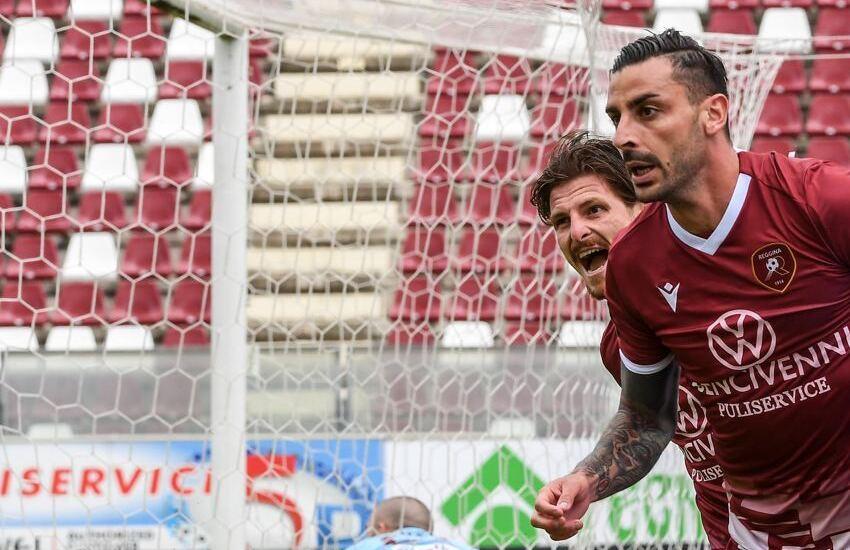 La Reggina pareggia a Lecce e manda la Salernitana ad un passo dalla Serie A