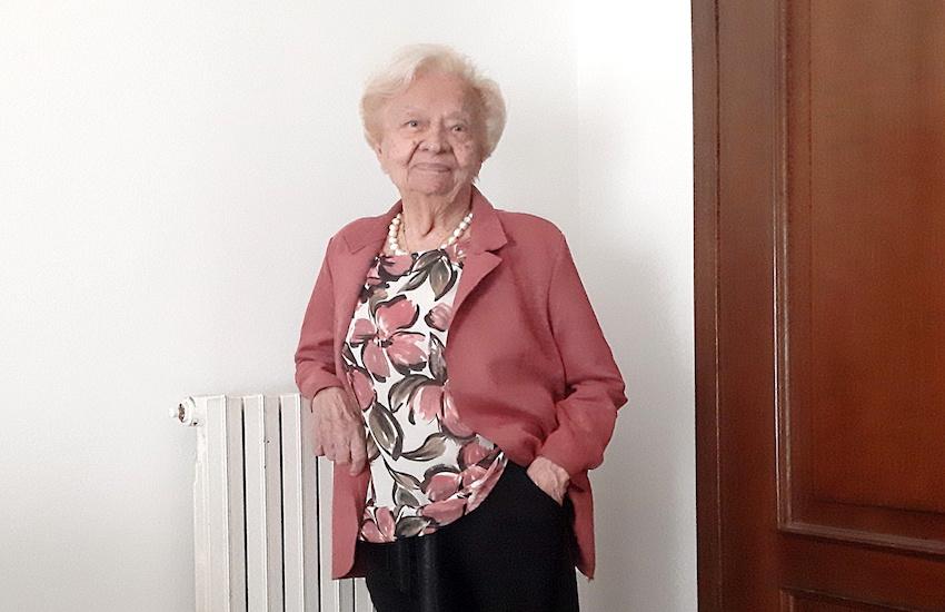 Nonna Nara nuova centenaria livornese