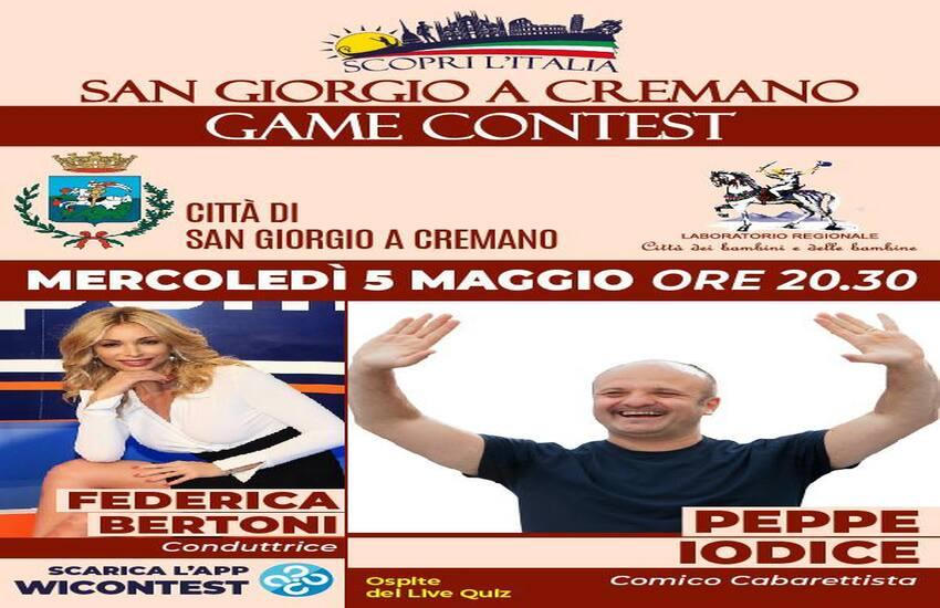 """Parte il """"San Giorgio a Cremano Game Contest"""", il quiz che premia i cittadini. In palio un voucher vacanza"""