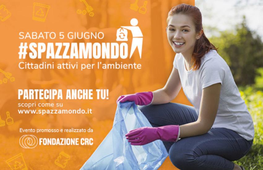 Cuneo, sabato 5 c'è Spazzamondo: una mattina per la pulizia della città