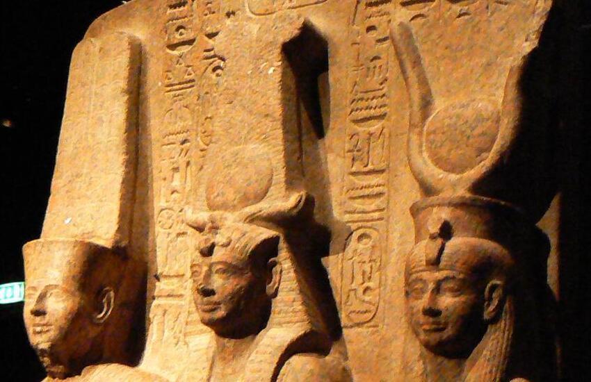 Esposizione di nuovi reperti del Museo Egizio realizzati nel carcere di Torino