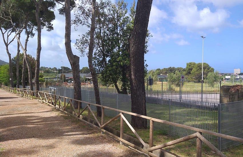 Aperta una nuova area di sgambatura per cani a Villa Corridi