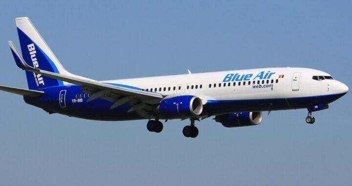 Blue Air annuncia la nuova rotta Reggio Calabria-Torino