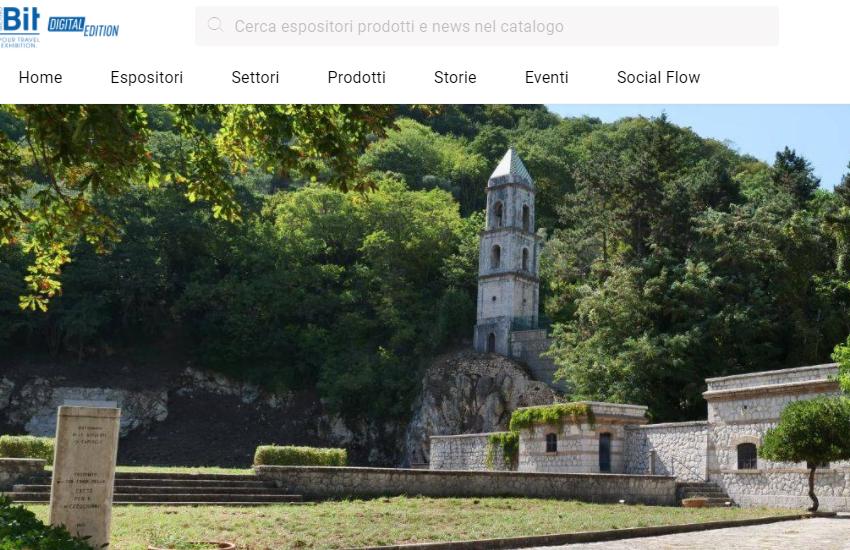 Caposele alla Borsa del Turismo Internazionale di Milano, tutto in formato digitale
