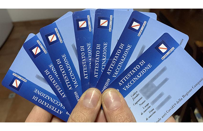 Grazie alla Protezione Civile al via la distribuzioni delle card vaccinali dall'Asl di Avellino