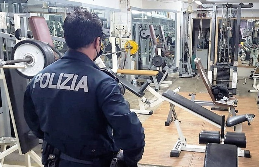 Gela, chiusura temporanea di due palestre per violazione delle misure anti-Covid