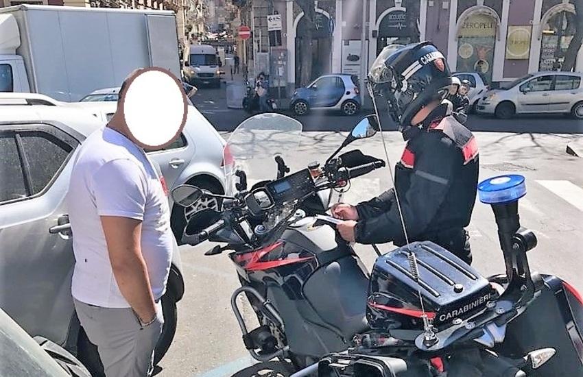 Catania, parcheggiatori abusivi: denunce e sanzioni nelle vie  Sant'Euplio e Reclusorio del Lume