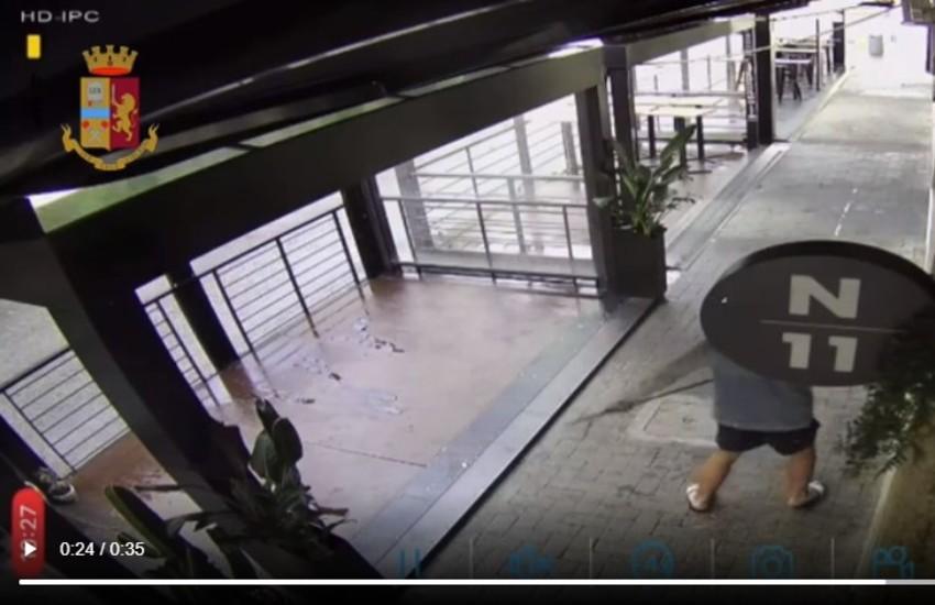 Latina, incastrato dal video di sorveglianza: giovane ladro straniero denunciato