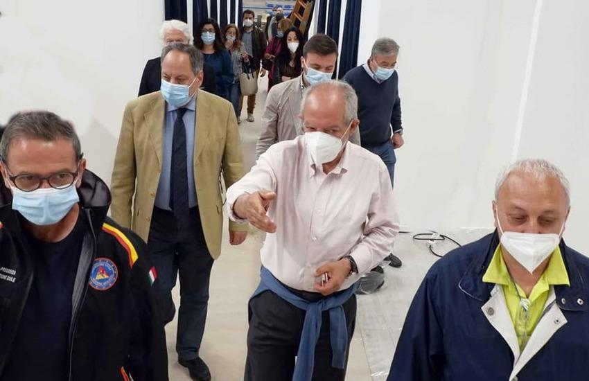 """Caltagirone, sarà inaugurato al PalaCaltagirone """"Don Pino Puglisi"""" il grande hub vaccinale del Calatino"""