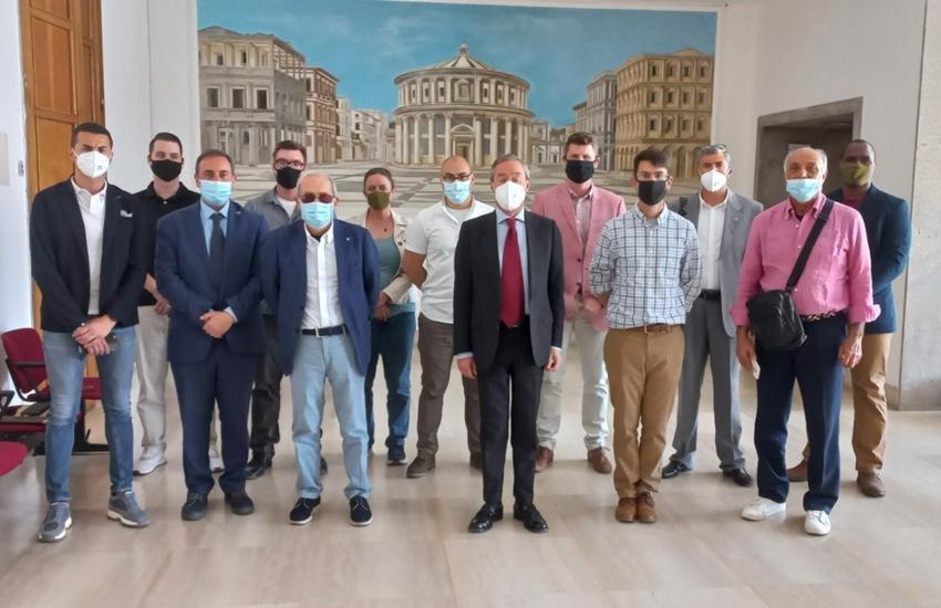 Sbarco degli Alleati, incontro in Comune con la delegazione di Sigonella per lavorare al programma