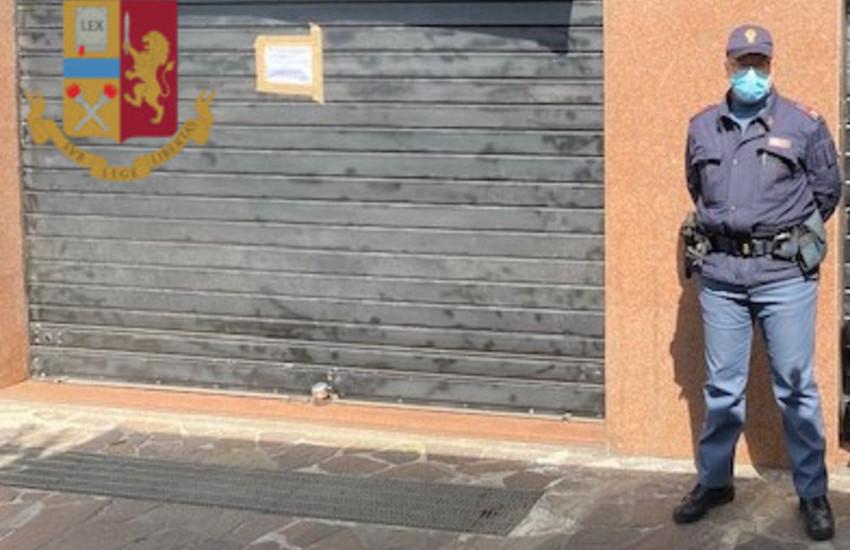 Morena, chiuso un bar per 3 giorni, arrestato titolare a Febbraio per spaccio
