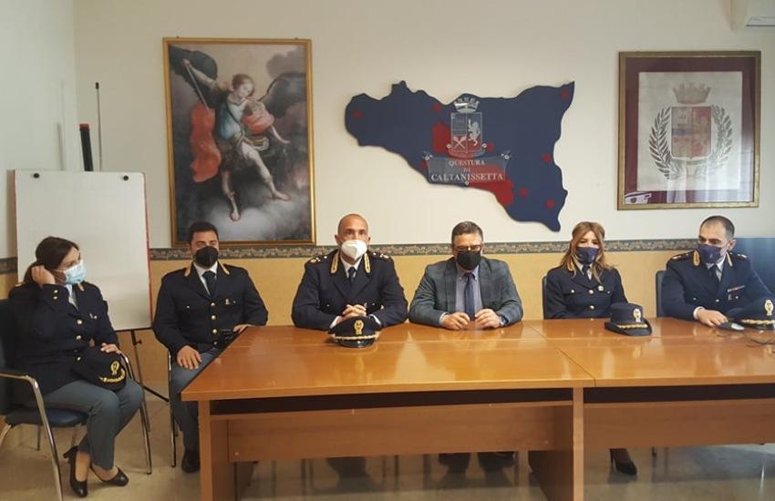 Caltanissetta, avvicendamento di funzionari della Polizia di Stato disposti dal Dipartimento della Pubblica Sicurezza: quattro nuovi arrivi e due promozioni