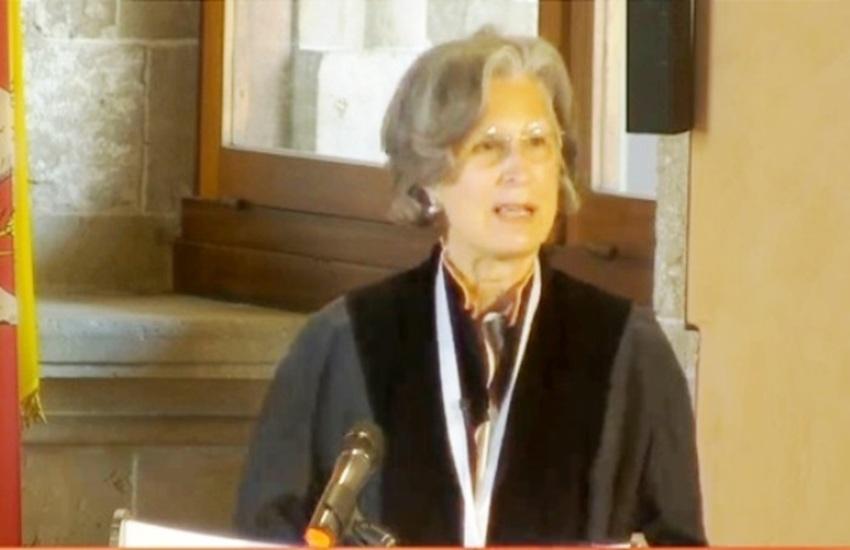 Laurea honoris causa alla scrittrice Giuseppina Torregrossa, amica di Vittoria e del suo Cerasuolo